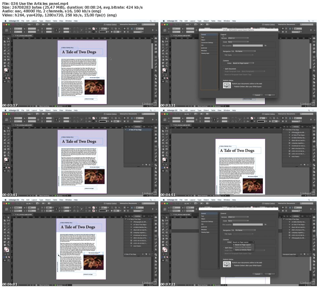 Lynda - InDesign CC: Interactive Document Fundamentals