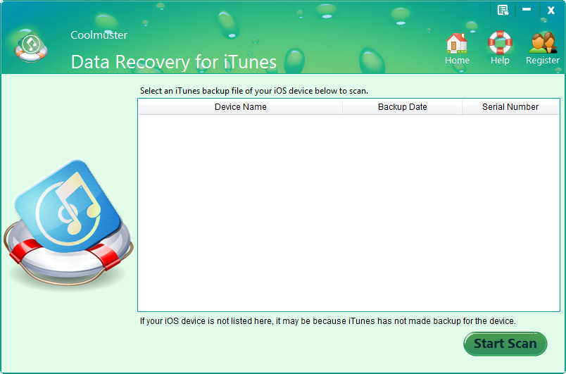 Coolmuster Data Recovery for iTunes 2.1.43 Multilingual