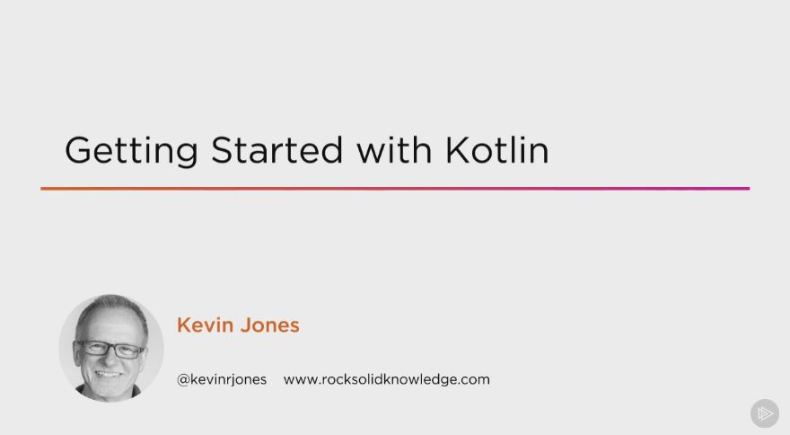 Getting Started with Kotlin (2016)