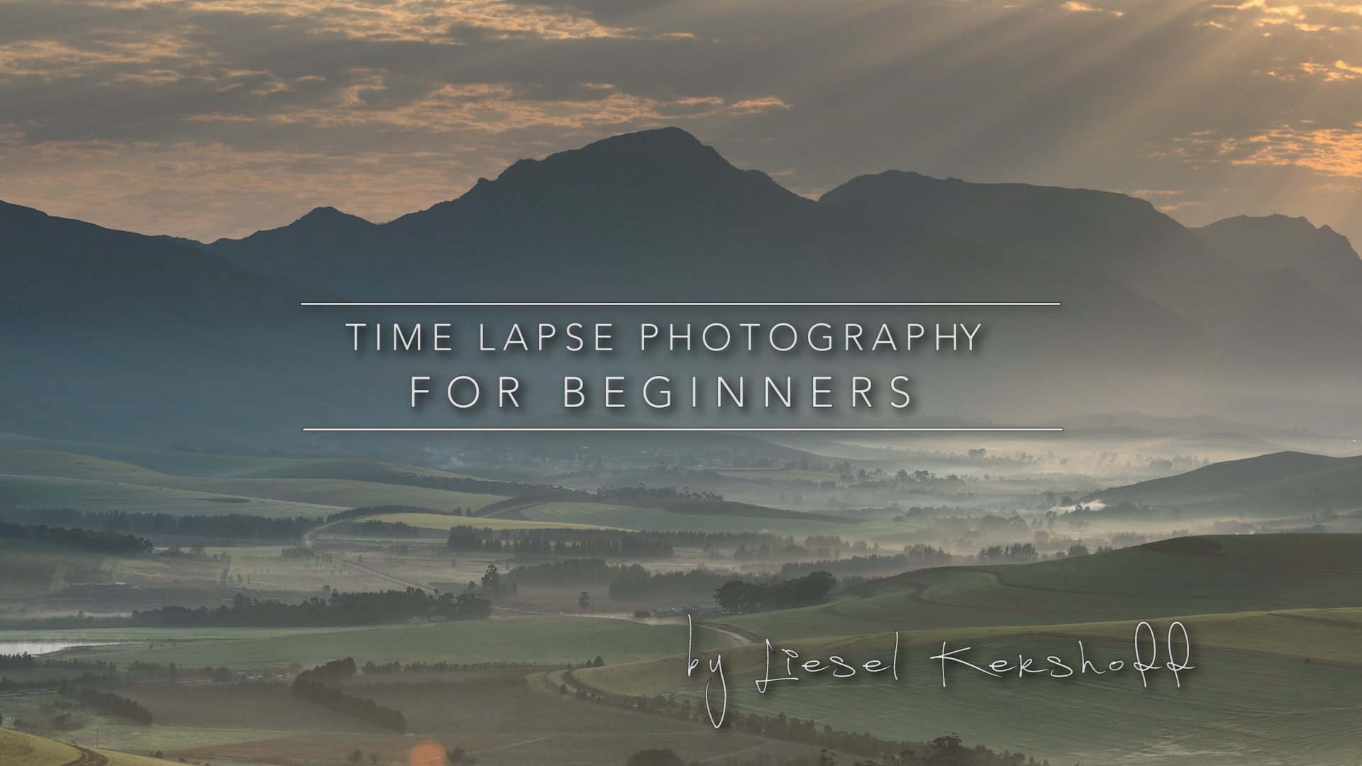 Time Lapse Photography for Beginners
