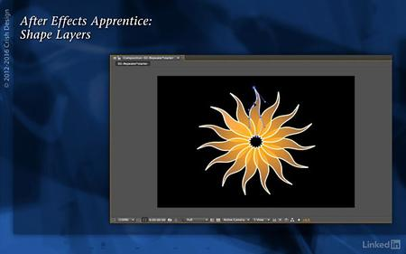 Lynda - After Effects Apprentice 14: Shape Layers (updated Nov 11, 2016)