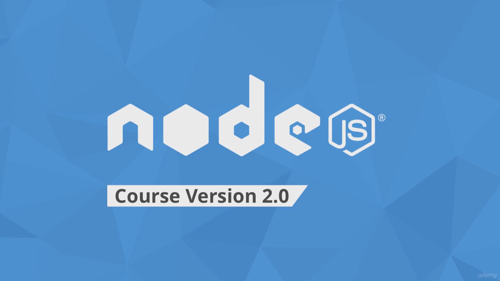 Udemy - The Complete Node.js Developer Course 2.0 (2016)