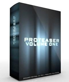 Pixel Film Studios - PROTEASER Vol. 1 Plugin for Final Cut Pro X