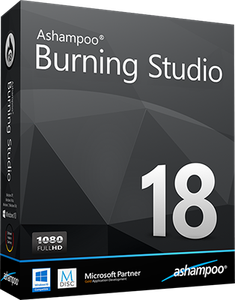 Ashampoo Burning Studio 18.0.0.54 Multilanguage + Portable