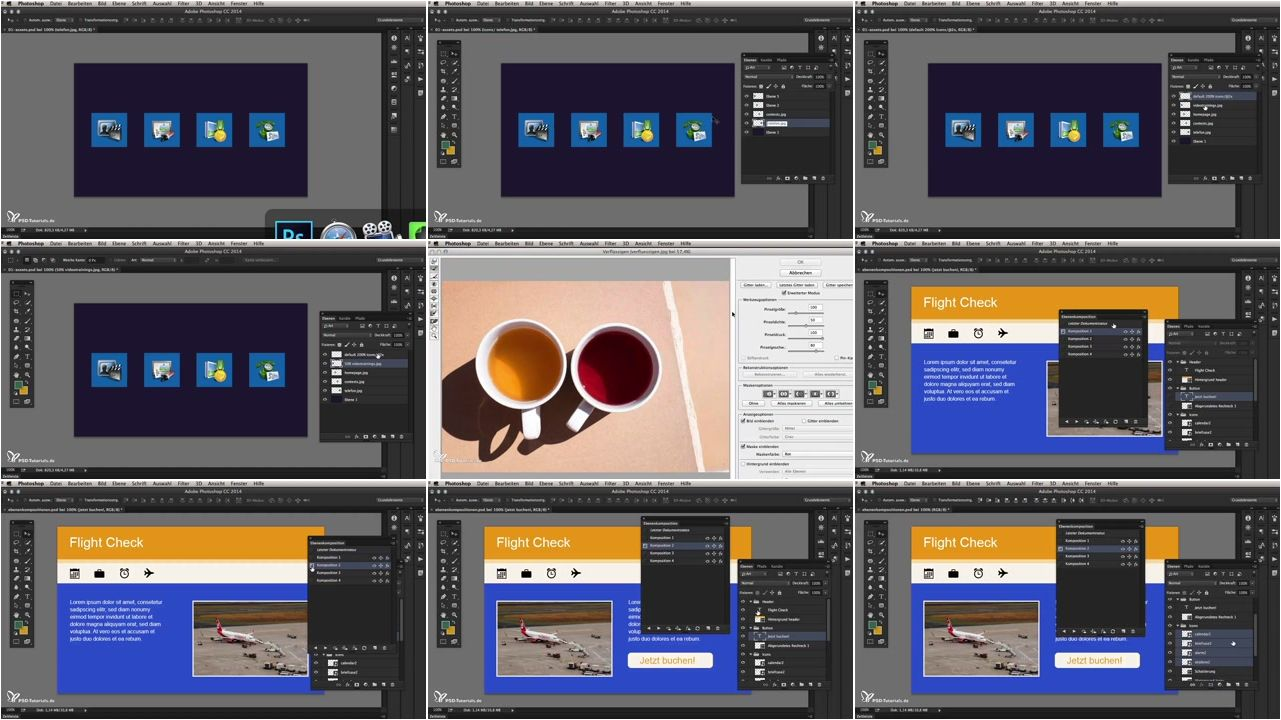 PSD Tutorials - Neues in der Creative Cloud: Photoshop
