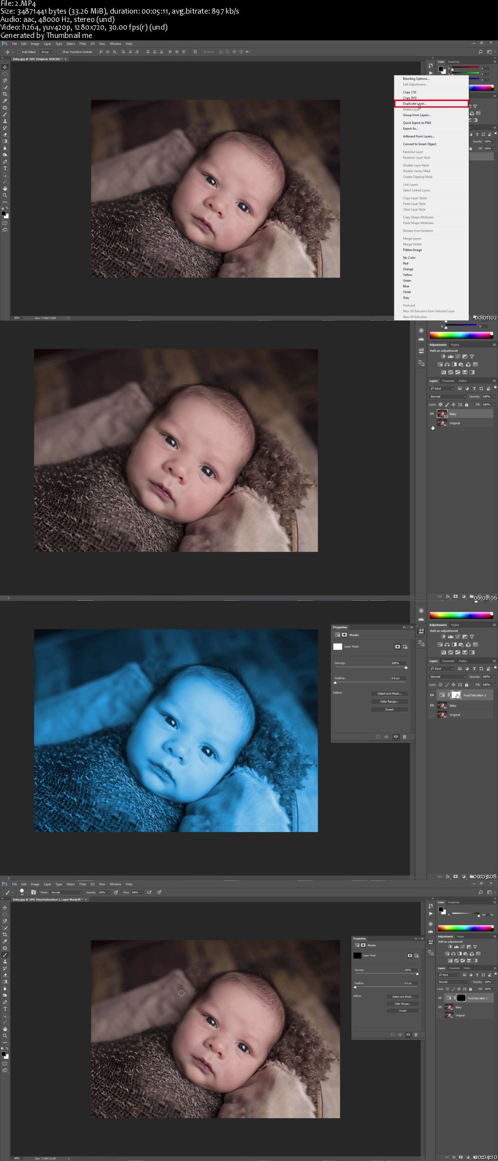 How to Create a Color Splash Effect in Photoshop