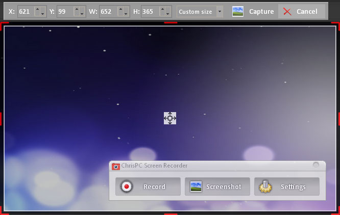 ChrisPC Screen Recorder 1.00