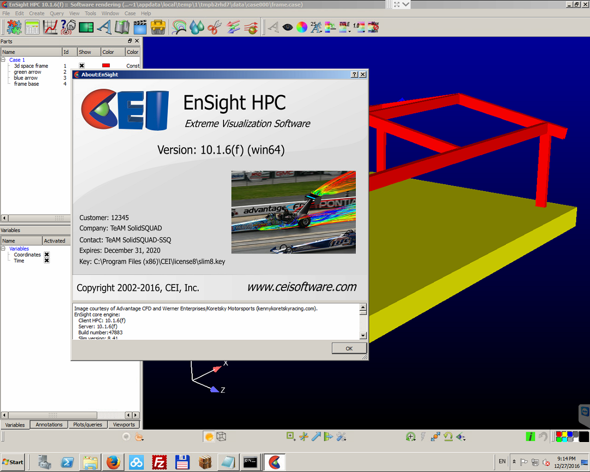 CEI EnSight 10.1.6(f)
