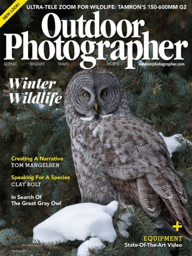 Outdoor Photographer – January/February 2017