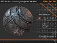 Gumroad – 350 Hardsurface Height/Alpha Vol 2 – UPDATE 03
