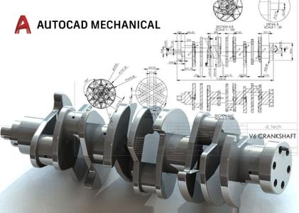 Autodesk AutoCAD Mechanical 2018 with Help and Templates