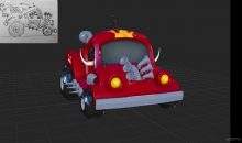 Learn to Model a Cartoon Car in Maya