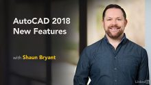 Lynda – AutoCAD 2018 New Features