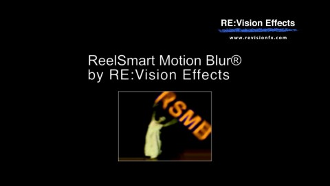 RevisionFX ReelSmart Motion Blur for Avid v5.0.4 (Win/Mac)