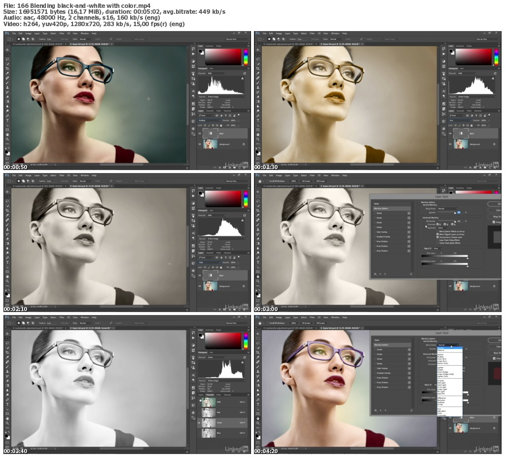 Lynda - Photoshop CC 2017 One-on-One: Advanced (updated May 02, 2017)
