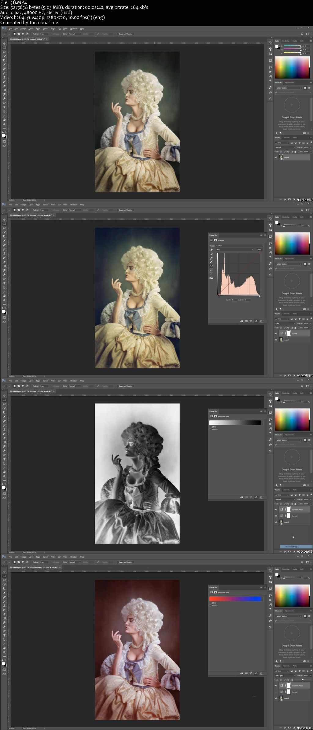 How to color your art in photoshop - How To Stylize Your Photos In Photoshop With Color Overlays