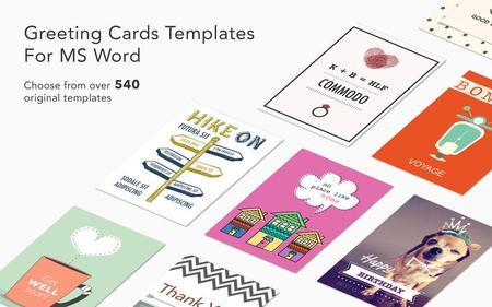 Greeting Card Expert - Templates for MS Word 2.1