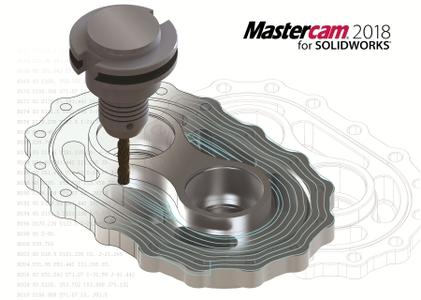 Mastercam 2018 version 20.0.14713.10 for SolidWorks 2010-2017