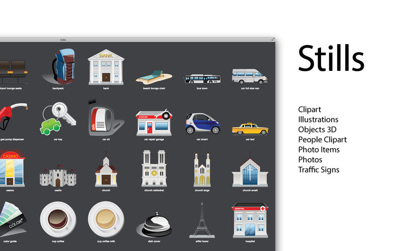 Expert Clipart - Icons, Backgrounds for iWork 3.1 MacOSX