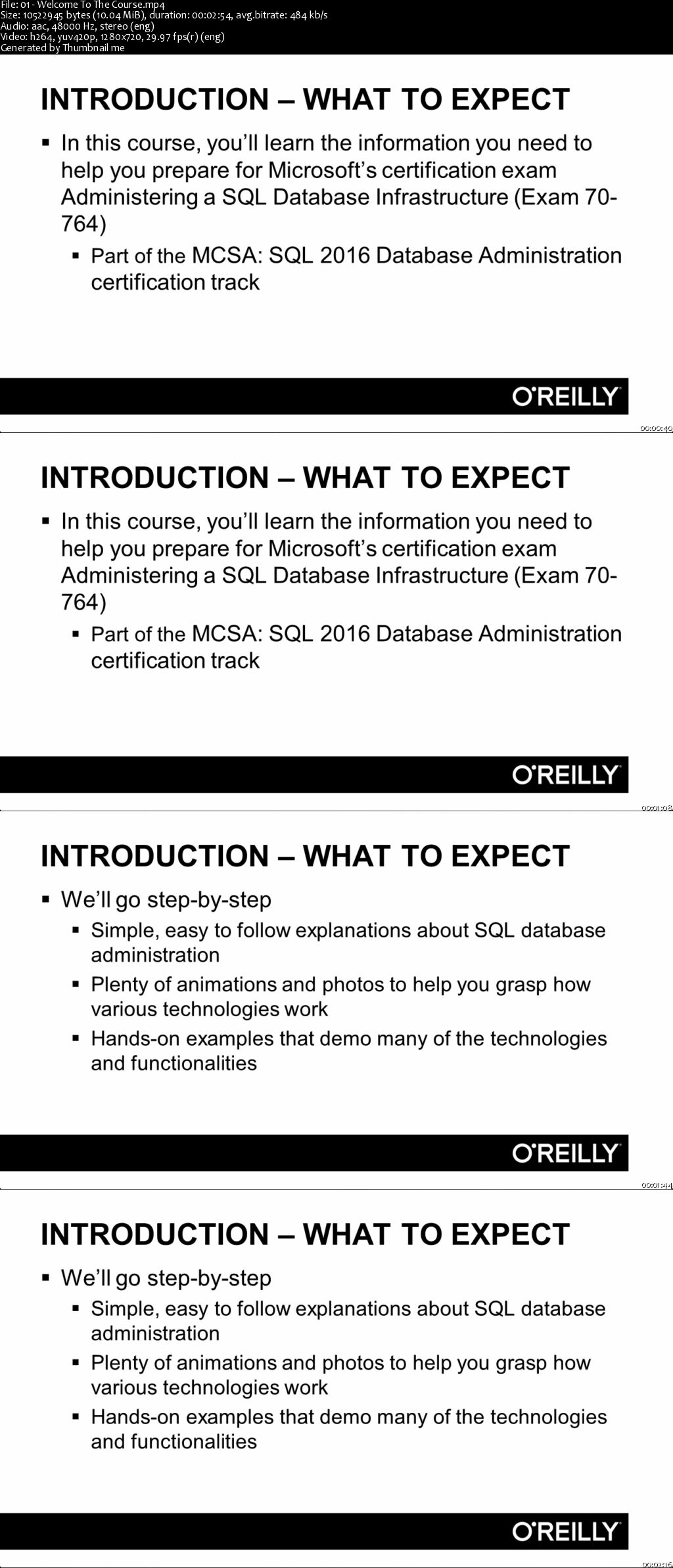 Administering a sql database infrastructure exam 70 764 administering a sql database infrastructure exam 70 764 certification training xflitez Gallery