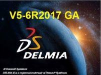 DS DELMIA V5-6R2017 GA SP0 x64 Multilingual