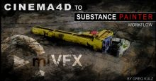 cmiVFX – Cinema 4D to Substance Painter Workflow