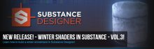 3DMotive – Winter Shaders in Substance Volume 3