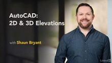 Lynda – AutoCAD: 2D & 3D Elevations