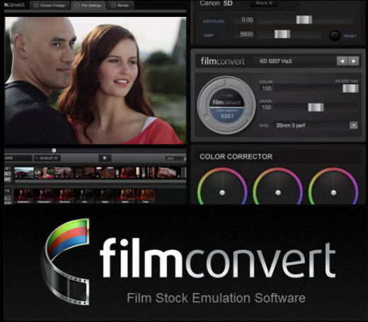 FilmConvert Pro 2.39a for Adobe After Effects & Premiere Pro Mac OS X