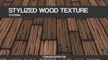 Cubebrush – Stylized Wooden Planks – Tileable Texture Tutorial