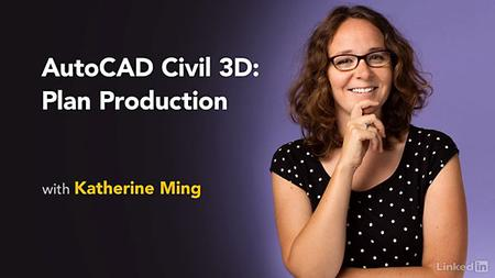 Lynda - AutoCAD Civil 3D: Plan Production