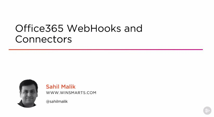 Office365 WebHooks and Connectors