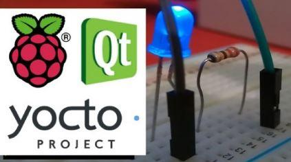 Raspberry Pi with embedded Linux made by Yocto