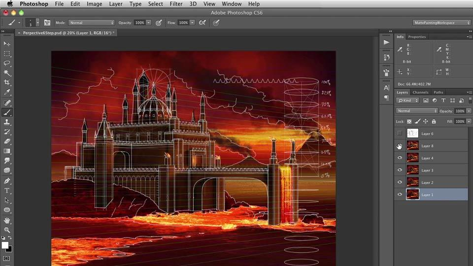 Digital Matte Painting: 2 Perspective