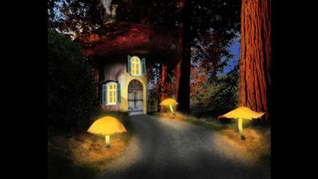 Creating Dreamscapes in Photoshop: Mushroom House