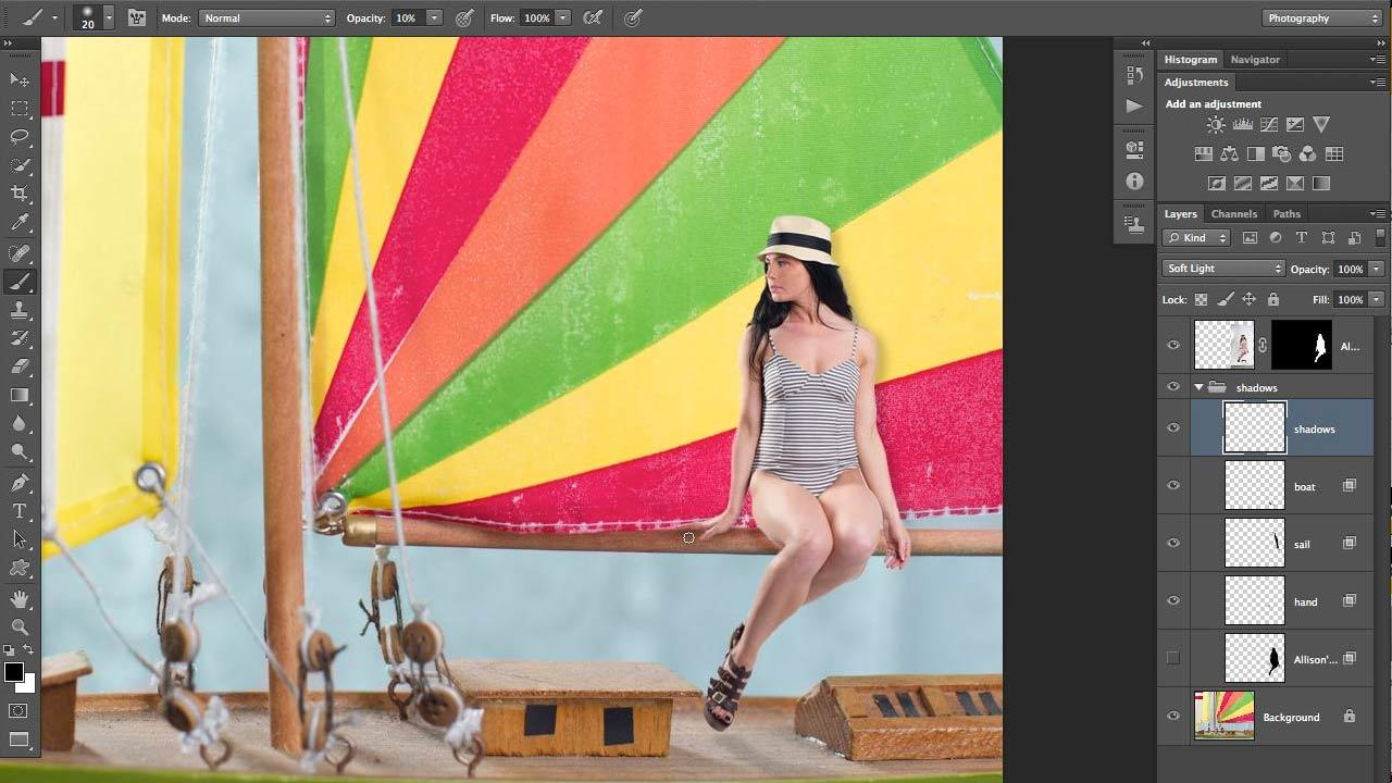 Photoshop for Photographers: Compositing