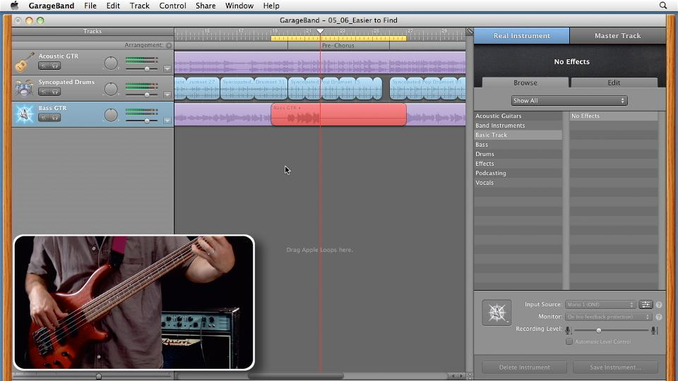 GarageBand '11 Essential Training