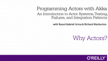 Programming Actors with Akka