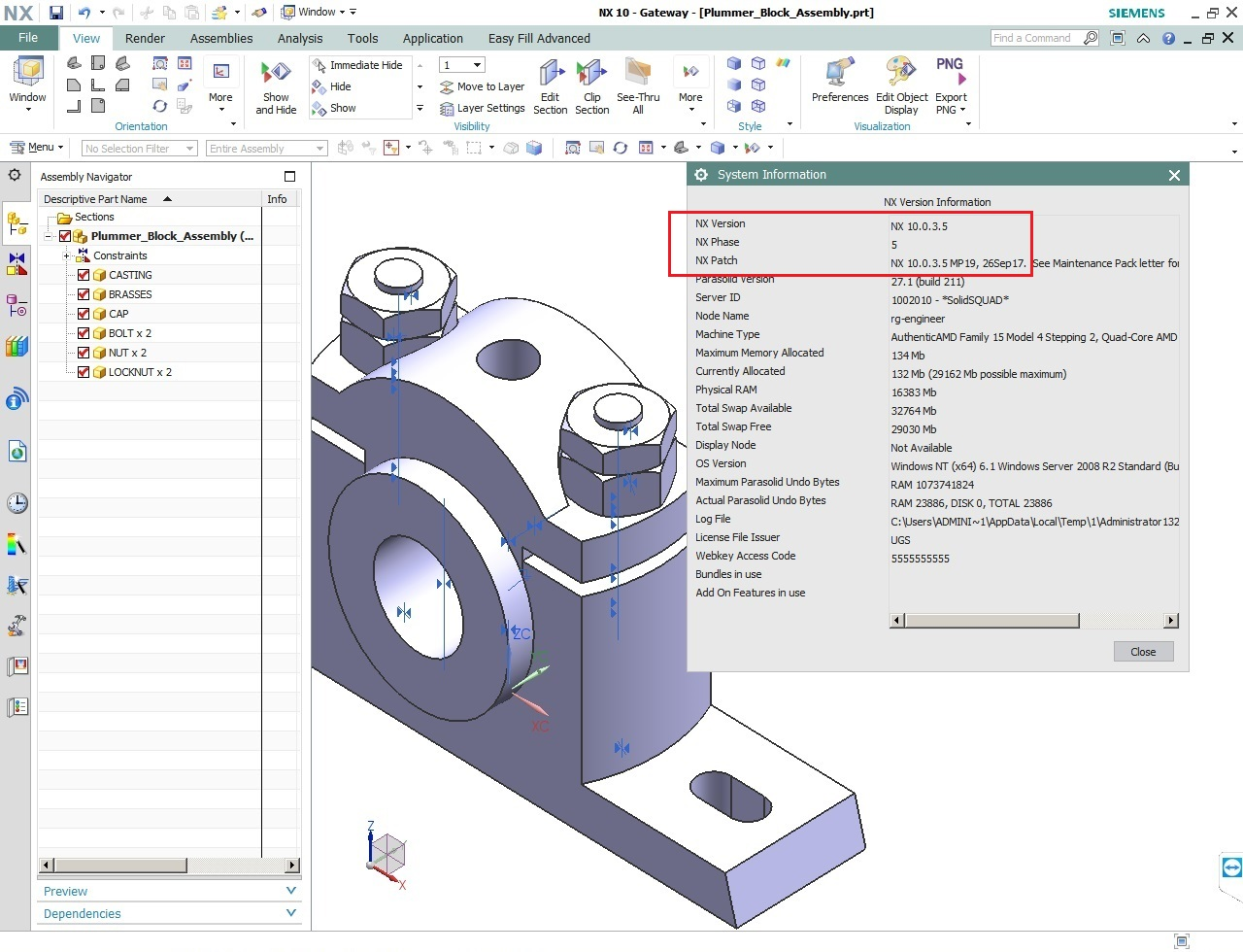 Siemens PLM NX 10.0.3 MP19 Update