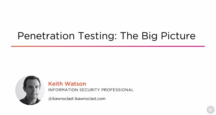 Penetration Testing: The Big Picture