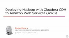 Deploying Hadoop with Cloudera CDH to AWS