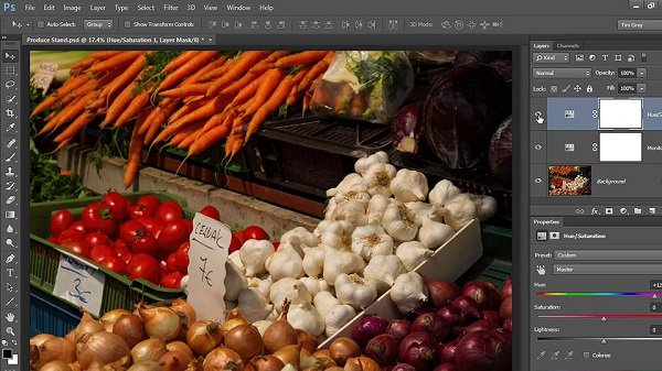 Learning Color Correction in Photoshop