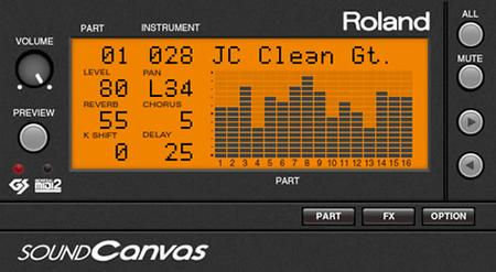 Roland VS SOUND Canvas VA v1.1.1 WiN