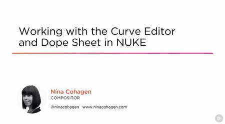 Working with the Curve Editor and Dope Sheet in NUKE