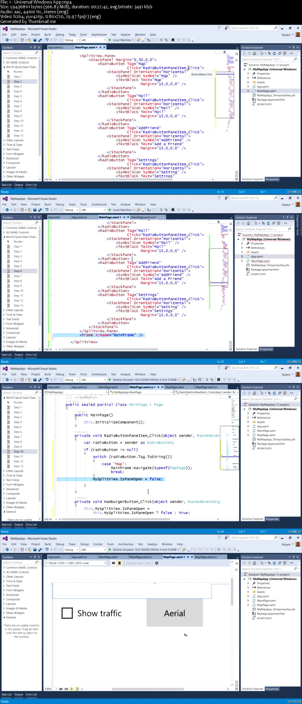 Quick Start Challenge: Universal Windows Apps in Visual Studio