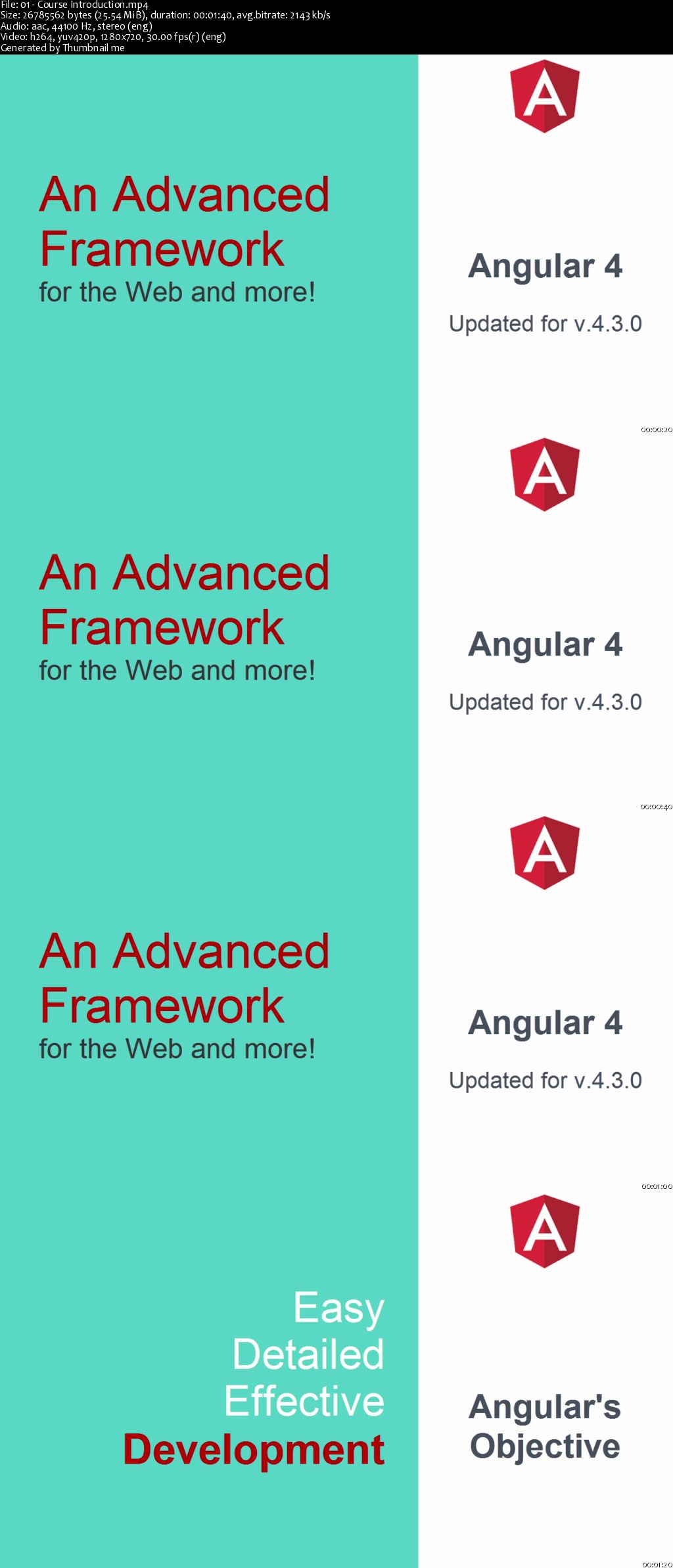 Starting with Angular 4 (updated for Version 4.3)