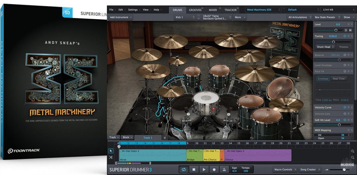 Toontrack Metal Machinery SDX v1.5 WiN