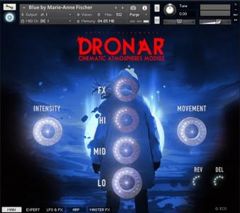 Gothic Instruments DRONAR Cinematic Atmospheres KONTAKT