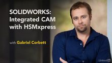 Lynda – SOLIDWORKS: Integrated CAM with HSMXpress