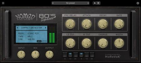 Nomad Factory 80s Spaces v1.0.1 WiN / OSX